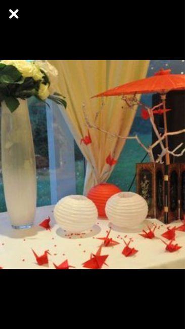 Mariage et décoration Inspiration Japon .... 27