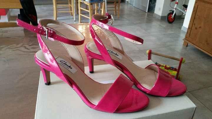 Chaussures fuschia helppppp - 1