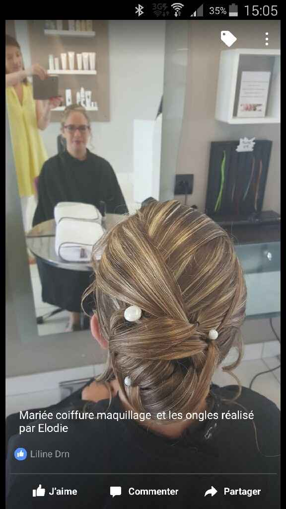 Mariées cheveux longs et trèèès fins: idées de coiffures? - 2