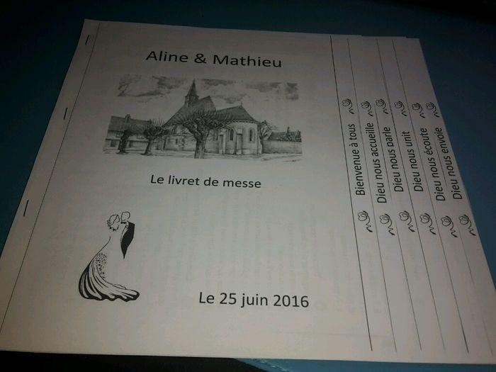 moi jai pris le modle sur un exemple donne sur ce forum donc livret en escalier - Exemple De Livret De Messe Mariage