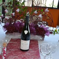 notre table sur le thême du vin