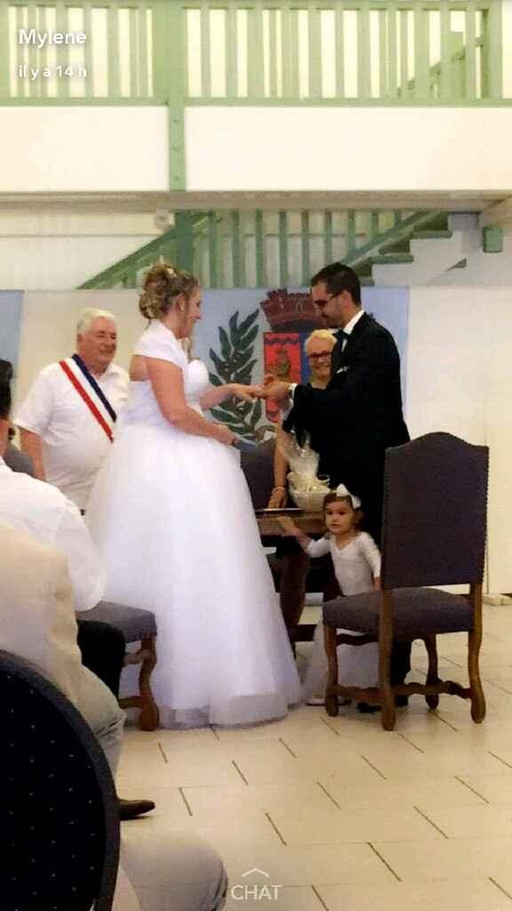 Et voilà !! c'est fait on est mariés !! - 1