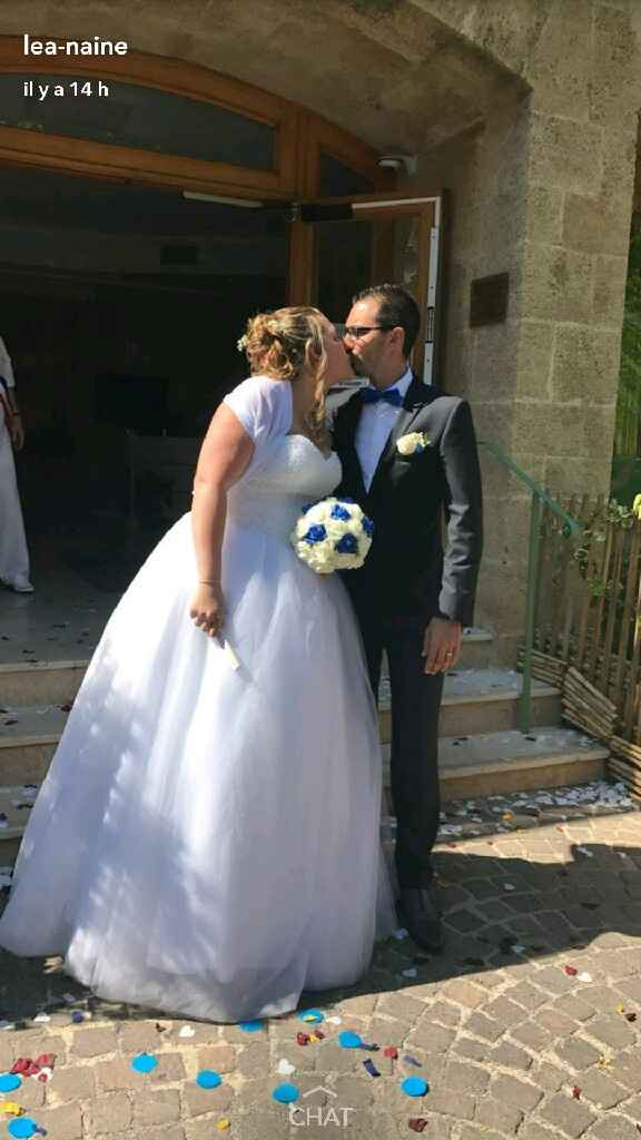 Et voilà !! c'est fait on est mariés !! - 6