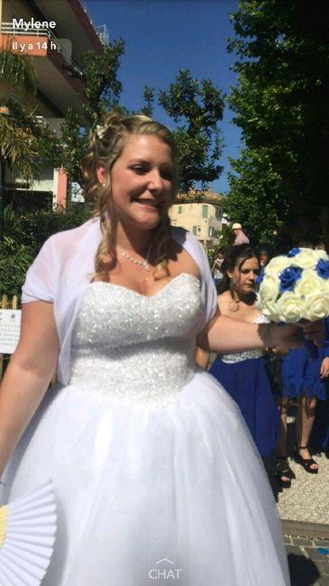 Et voilà !! c'est fait on est mariés !! - 4