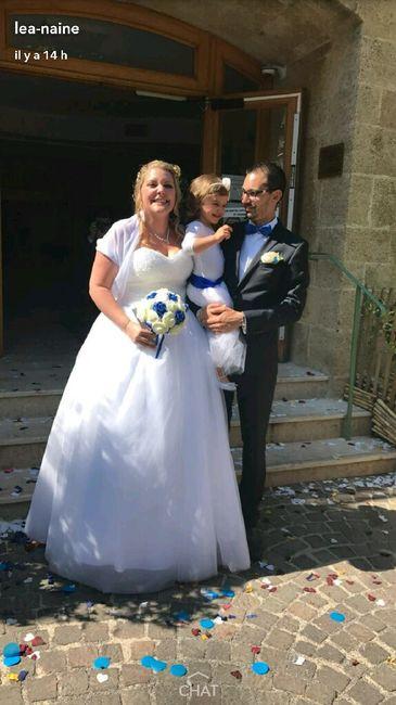 Et voilà !! c'est fait on est mariés !! - 5