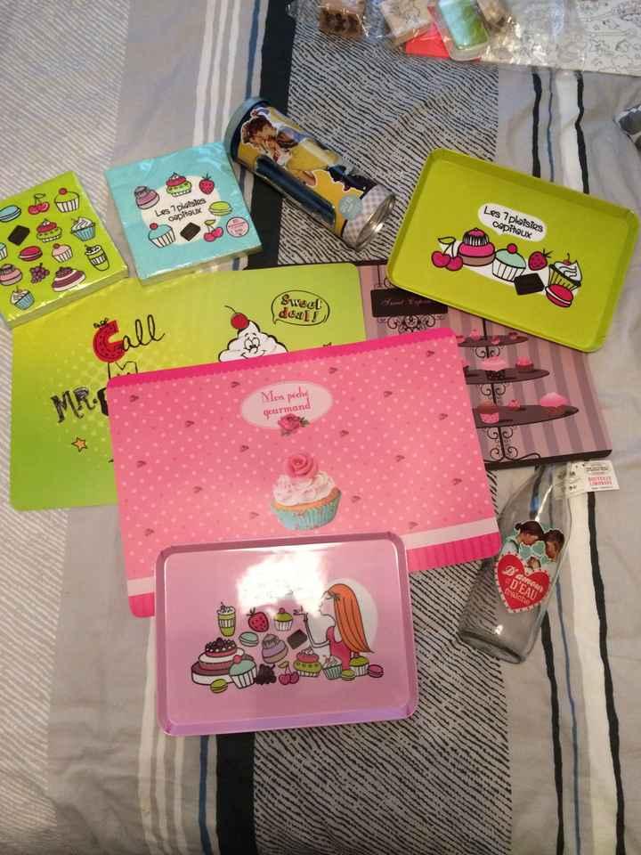 Achats candy bar et photobooth - 2