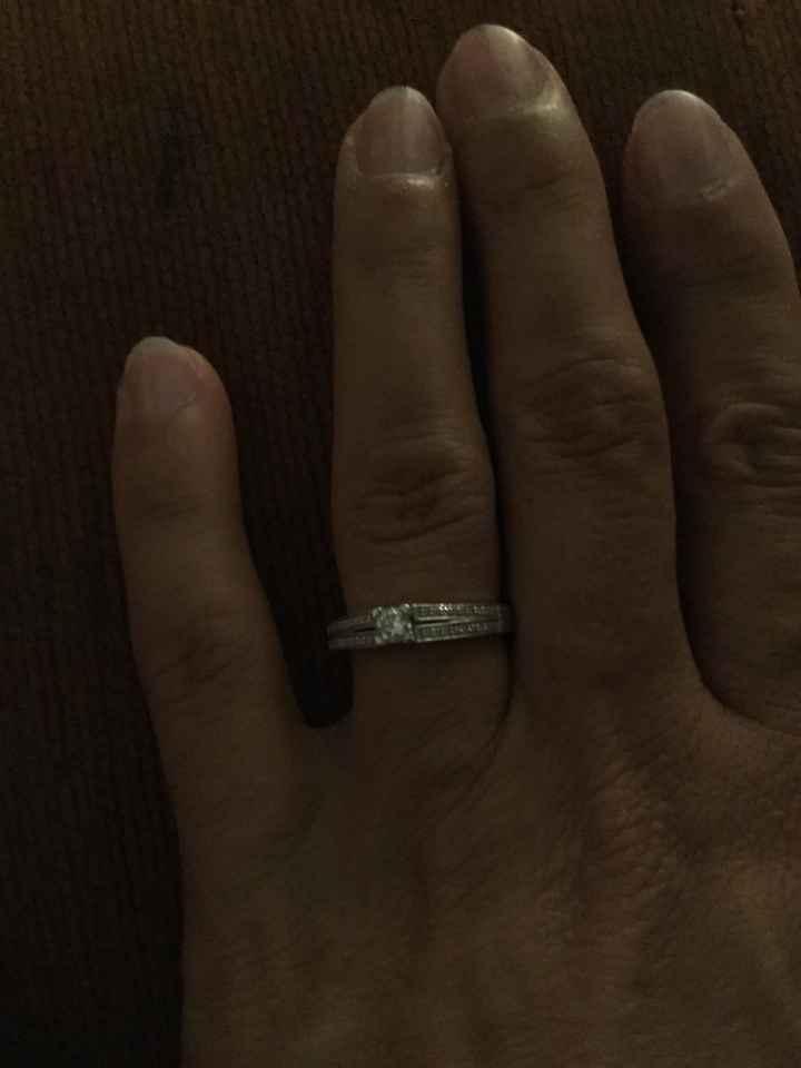 Guide des tailles - bague de fiançailles 💍 - 1
