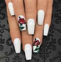 Avec du rose nude a la place du blanc sur Pinterest il y a plein d'idées