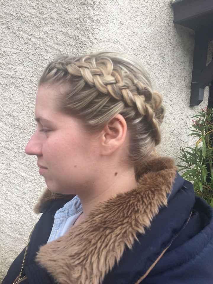 Essai coiffure d'hier ? - 2