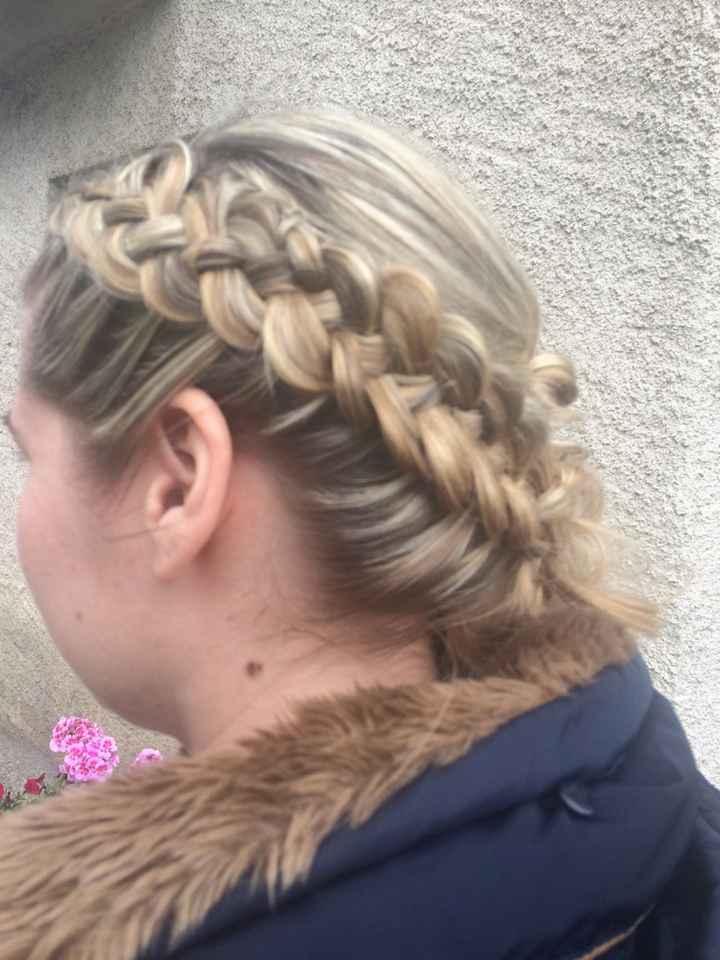 Essai coiffure d'hier ? - 4