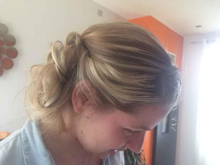 Essai coiffure d'hier ? - 5