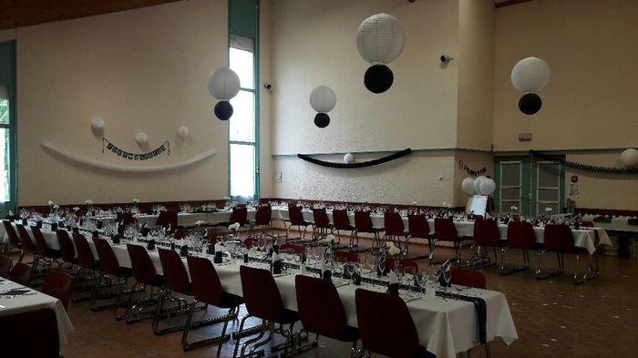 Disposition des tables - 2