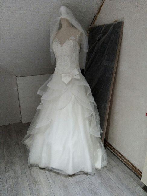 Et après le mariage ... vous avez fait quoi de votre robe??? - 1