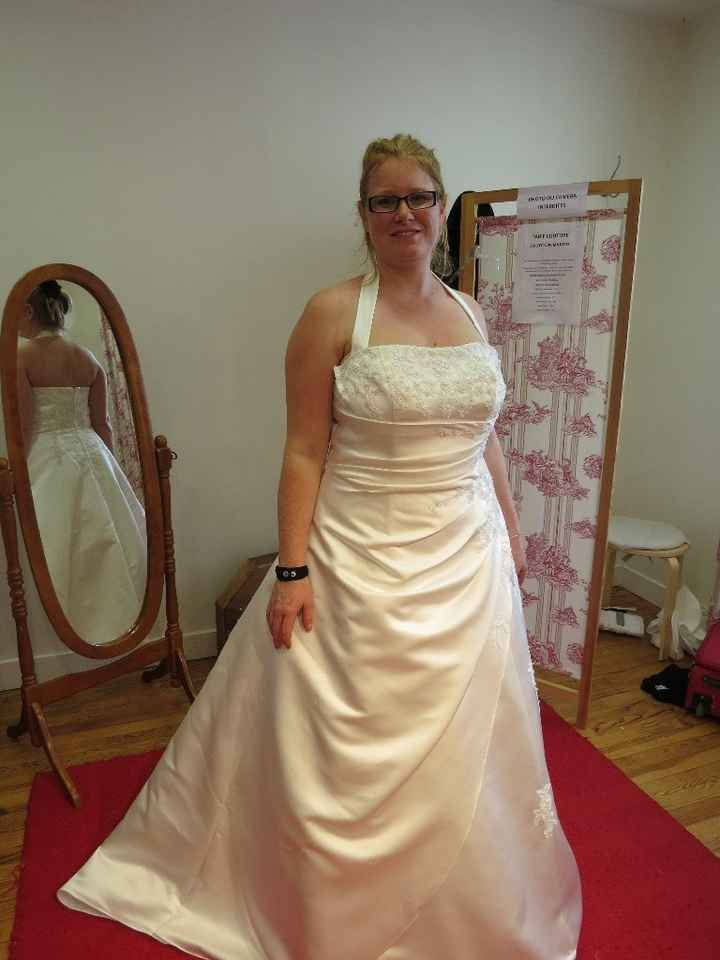 Ma robe avant retouches