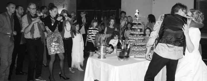 arrivée du gâteau
