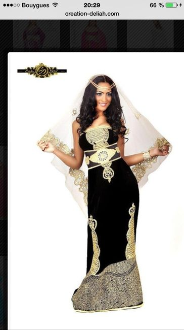Pourquoi 7 robes mariage algerien