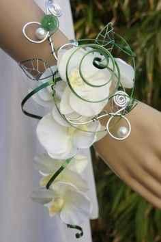 Bouquet de la mariée version bracelet - 2