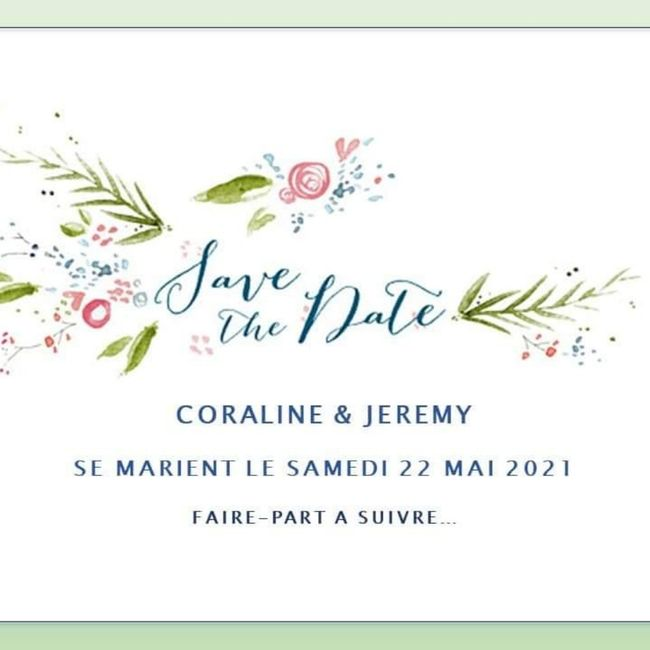 Save the date ! 1