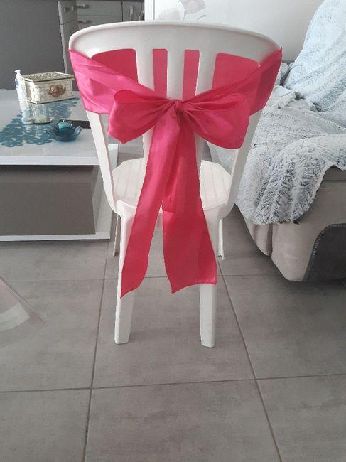 Housses et nœuds de chaises 1