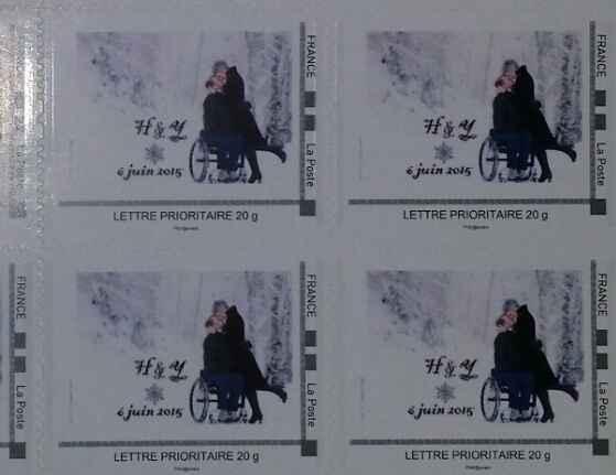 Séance photo et timbres personnalisés - 1