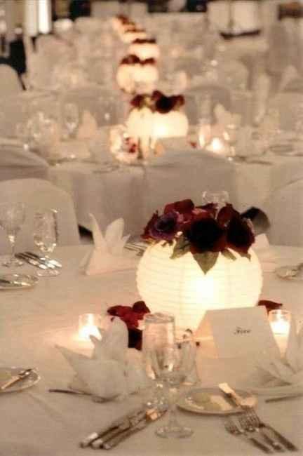 Centre de table lumineux