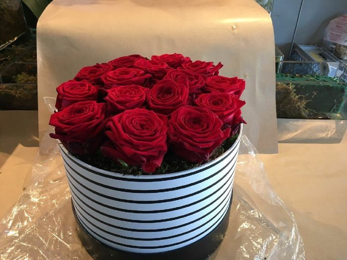 La nouvelle tendance des roses en boîte (à chapeau) ! - 1