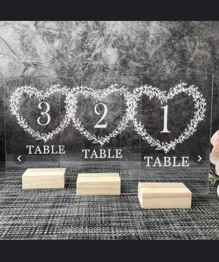 Numéro de table ! - 1