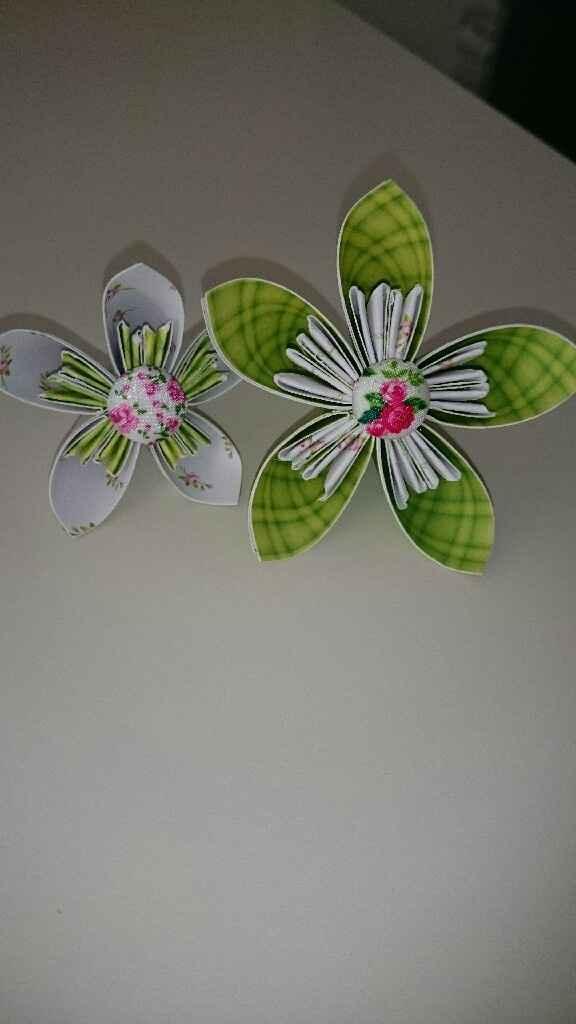 Essaie fleur origami - 1