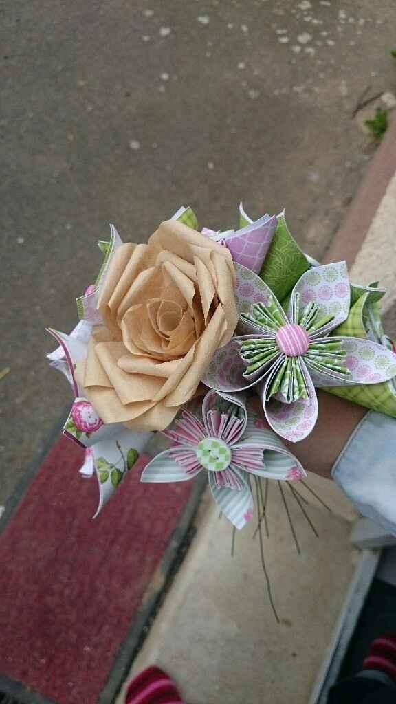 Essaie fleur origami - 2