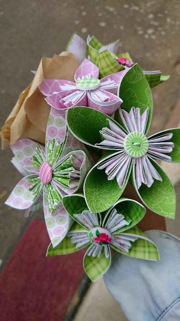 Essaie fleur origami - 3