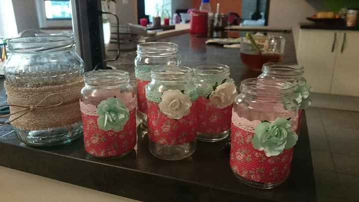 Mes petits pots diy liberty. flowers et jute - 1