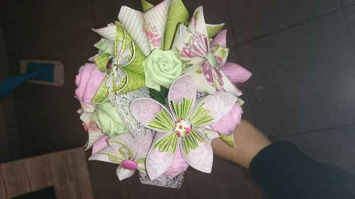 Bouquet origami hello me please - 3