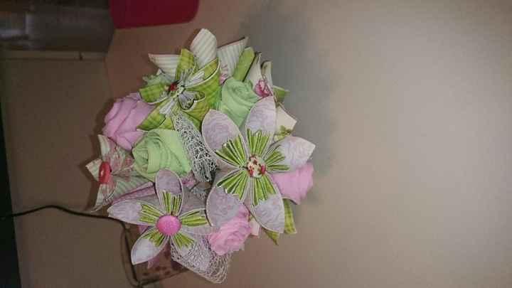 Bouquet origami hello me please - 4
