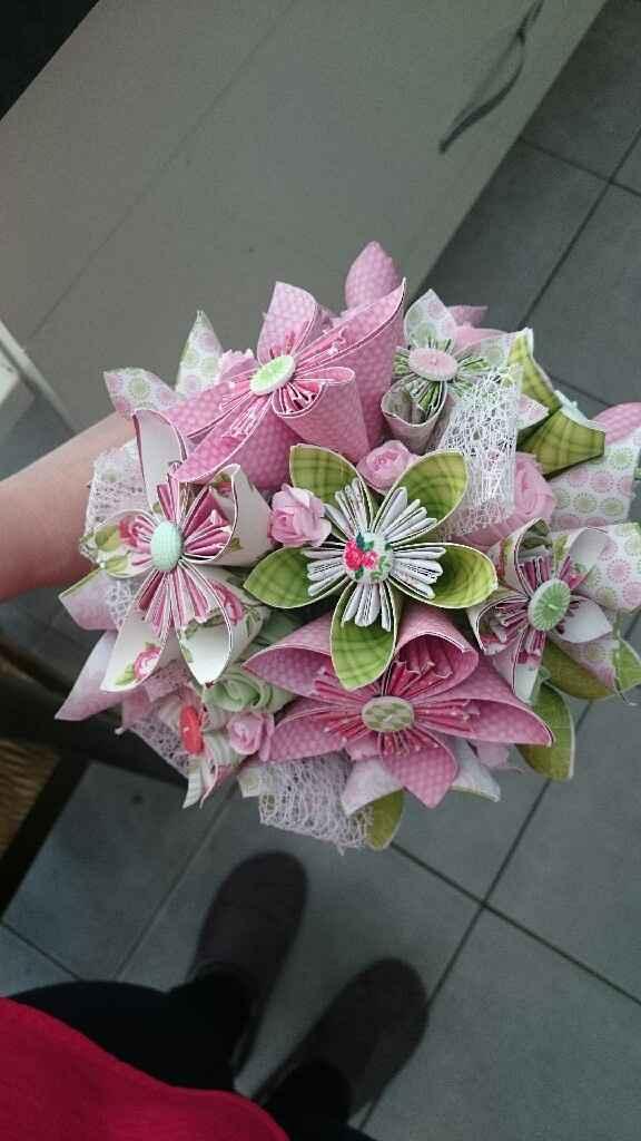Fleur en papier - 1