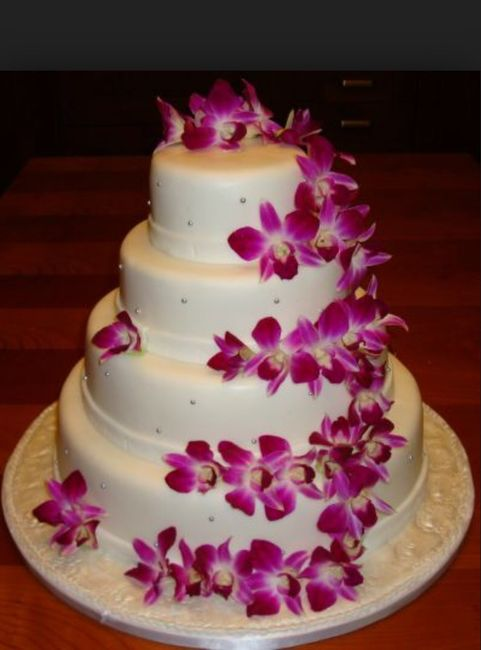 Le duel des wedding cake : thème des orchidées - Banquets - Forum ...