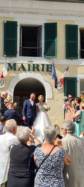 Après 4 reports … nous sommes enfin mariés ! 3