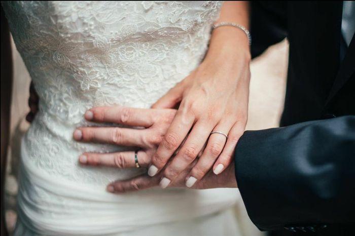Photo de vos mains avec alliances - 1