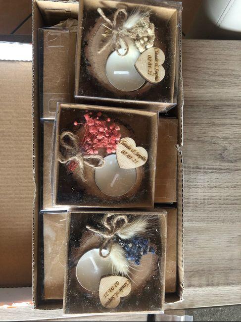 Cadeaux invités femmes reçus 1