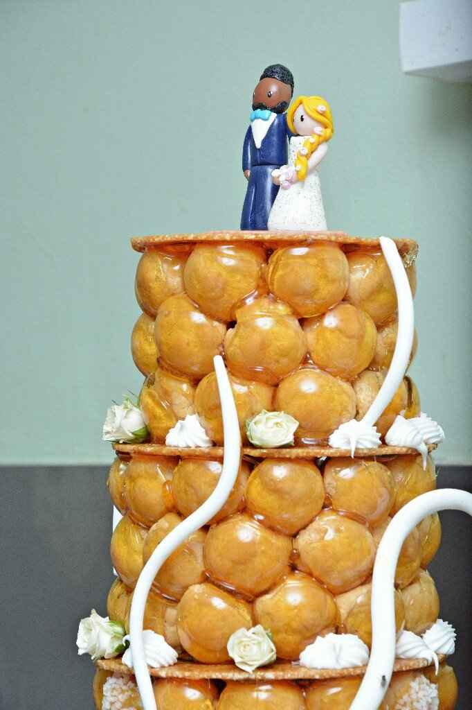 Risque ou pas : fleurs fraiches gâteau - 1