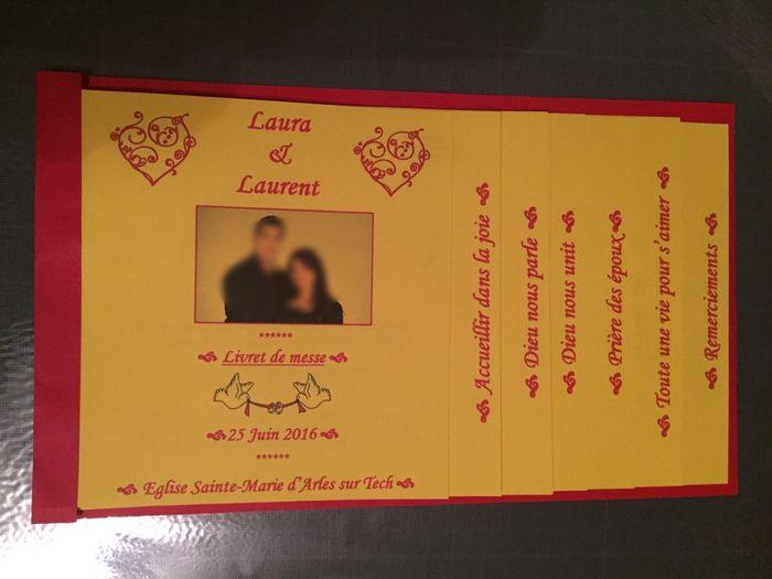 livret de messe en escalier 1 photo c 233 r 233 monie de mariage