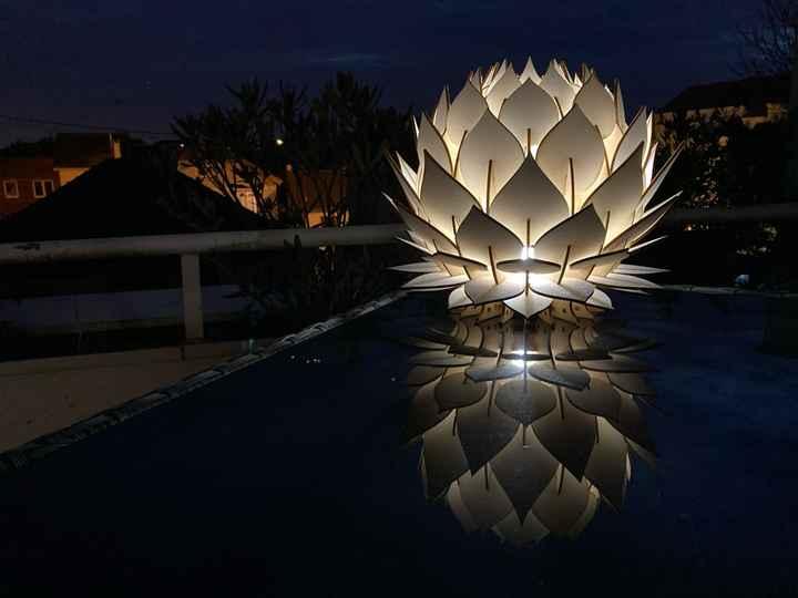 Lampe décoration extérieure - 1