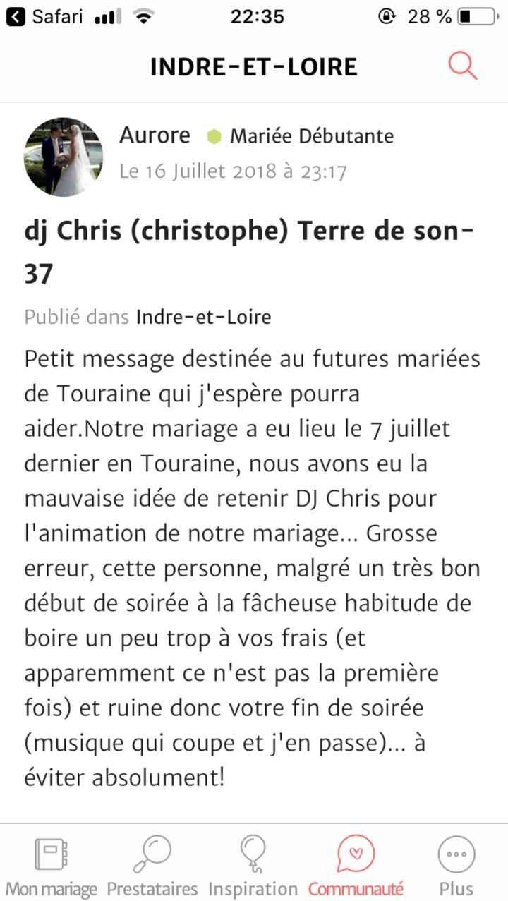 Cherche dj - 1