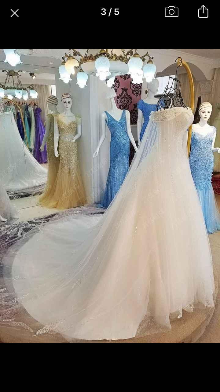 Robe de mariage - 1