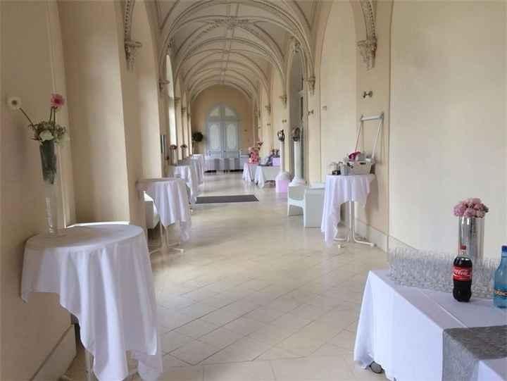 Couloir du vin d'honneur - Abbaye du Valasse
