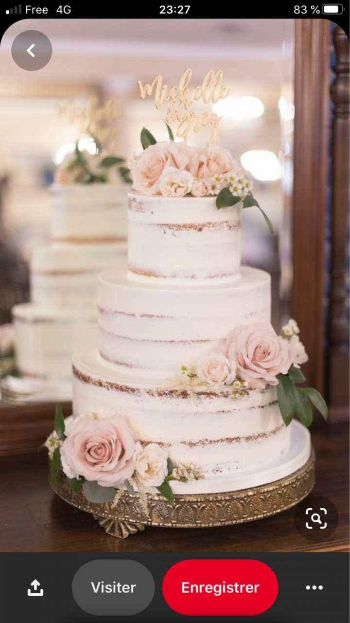 Je ne veux SURTOUT pas ce wedding cake ! 6