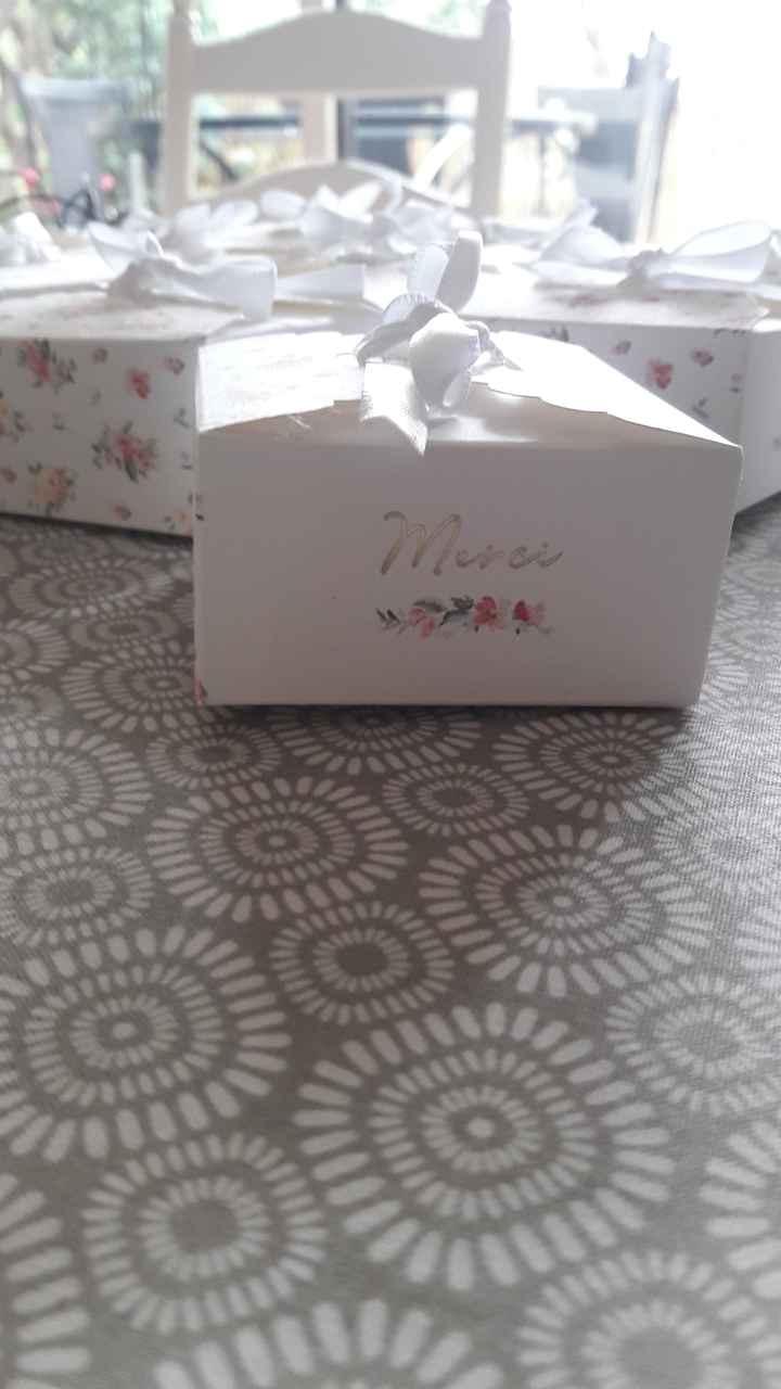 Cadeaux des invités 1