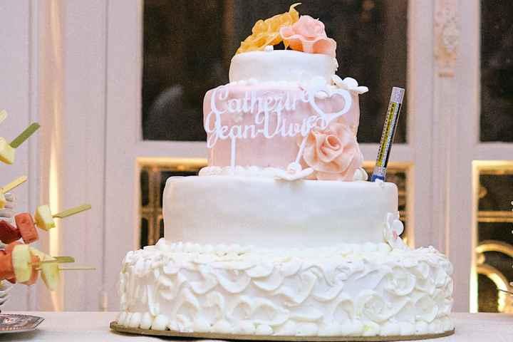 Vote pour ton gâteau de mariage favori 🍰 1