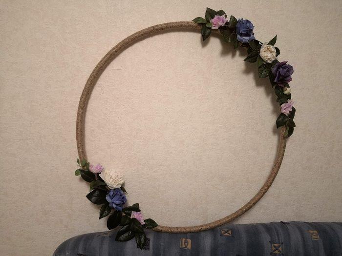 Début de cerceau fleuri 2