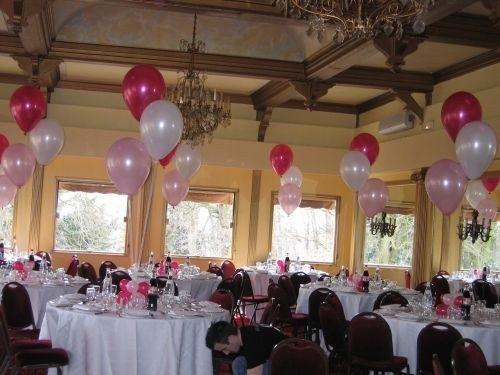 Qui s 39 occupe de la disposition de votre d coration de - Decoration mariage avec ballon ...