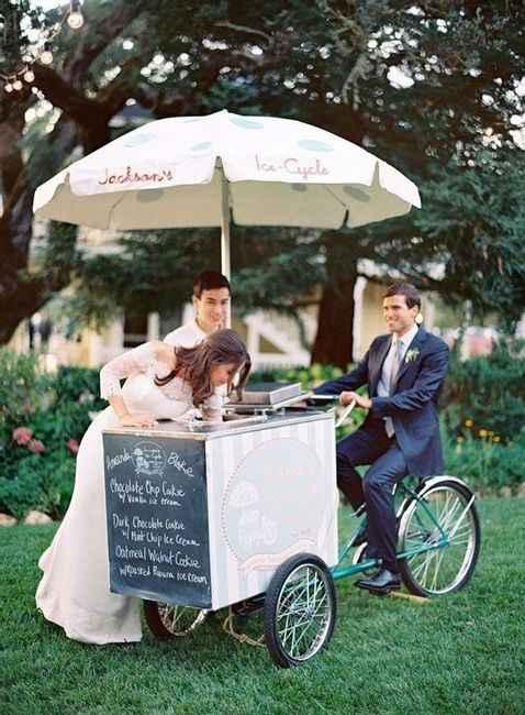 Marchand de glaces ambulant - 1
